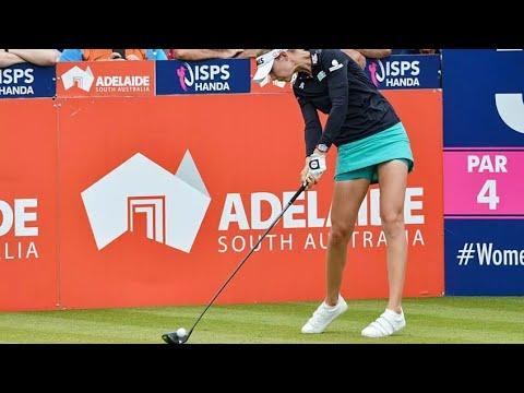 LPGA 상승세 *넬리코다* 파워풀 드라이버스윙 시퀀스(Nelly Korda 2019-2018 Powerful driver golf swing Sequence)
