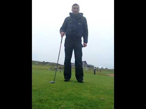 Golf swing basics and mechanics – Right wrist position  drill.