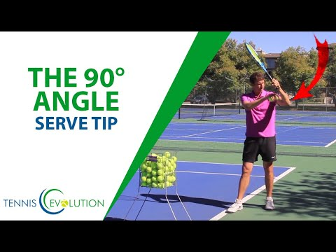 SERVE TIP: How To Hit More Powerful Serves