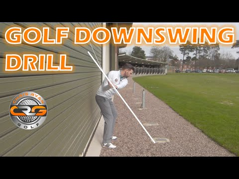 SIMPLE GOLF DOWNSWING DRILL