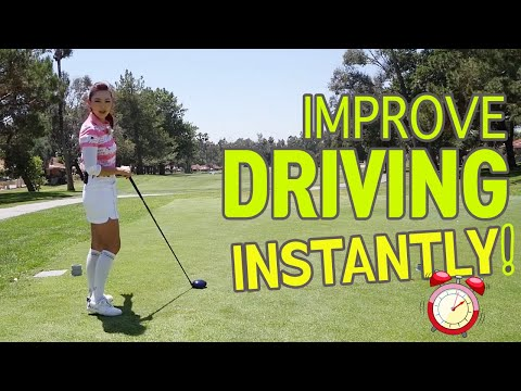 Improve Driving Instantly | Golf with Aimee