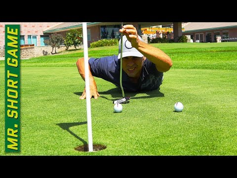 The Best Way to Read Greens for Golfers!
