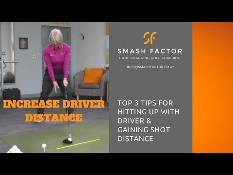 3 top golf tips to increase your driver shot distance