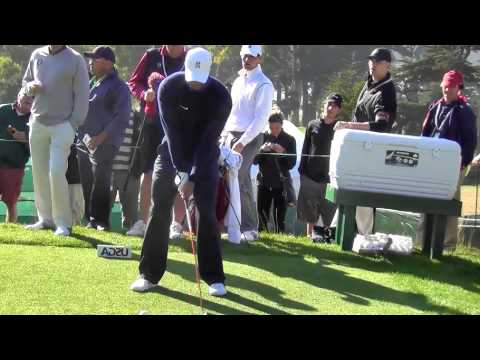 Tiger Woods Flip Frame Left Handed 2012 US Open Olympic Club Swingvision Slow Motion