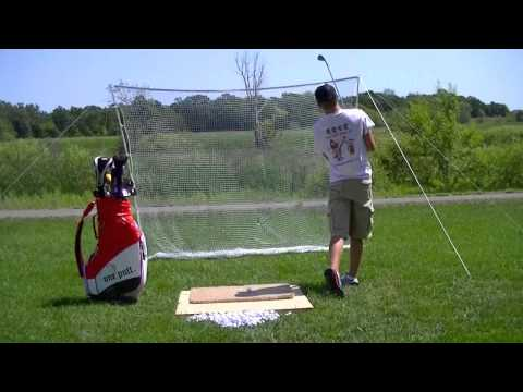"""""""Perfect"""" Left Handed 8 Iron Golf Swing"""