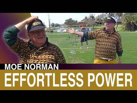 Short Powerful Golf Swing – Moe Norman's discusses his Effortless Power