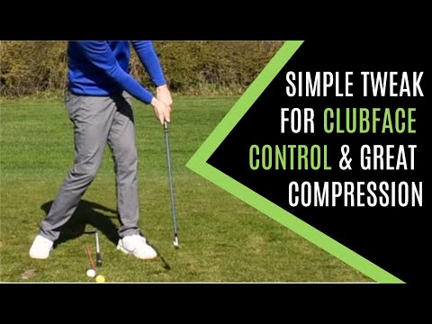 STOP FLIPPING AT IMPACT WITH THIS SIMPLE GOLF CLUBFACE CONTROL TWEAK FOR EFFORTLESS COMPRESSION