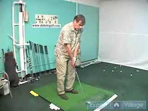 How to Swing a Golf Club: Free Online Lessons for Beginner & Advanced Players : Positioning the Golf Ball – Part 2: How to Improve Your Golf Swing