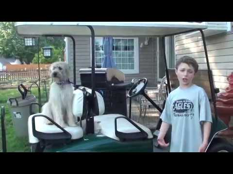 How to Drive a Golf Cart | Funny How To Video Driving a Golf Cart | Chris Johnson Drives a Golf Cart