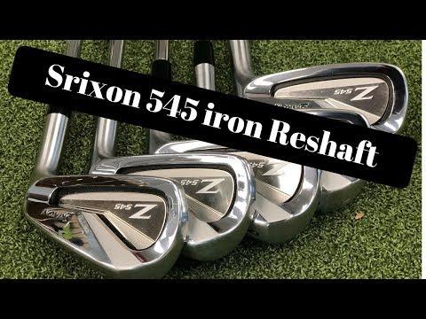 2018 srixon 545 irons reshaft – golf club repair