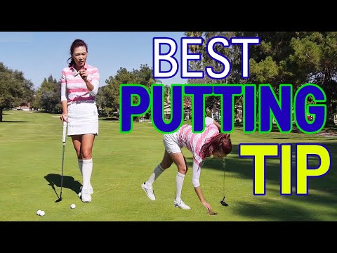 Best Putting Tip of Your Life   Golf with Aimee