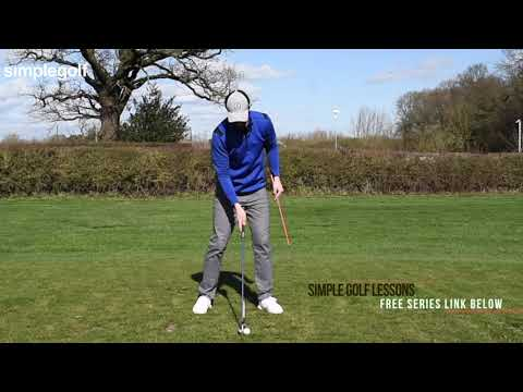HOW TO COMPRESS IRONS AND STOP TRYING TO LIFT IN THE AIR EVEN IF NOT ATHLETIC SENIOR GOLFER