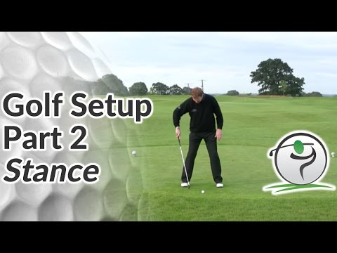 Golf Stance – How to Position your Feet at Address