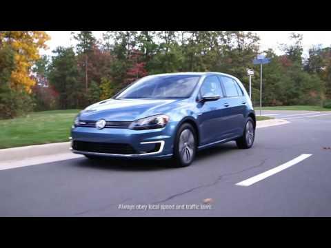 Driving Modes of the Volkswagen e-Golf   Volkswagen Canada