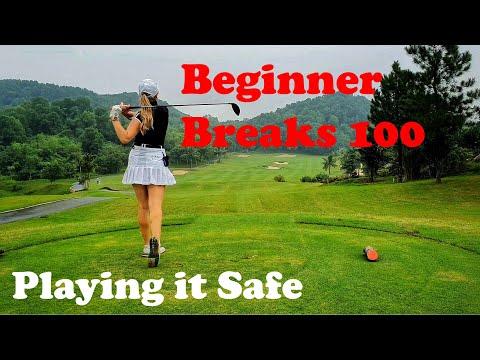 Beginner Golfer Breaking 100- Playing it Safe