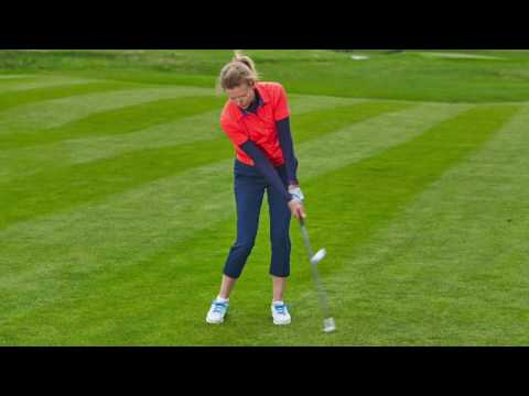 Women & Golf: Chipping Over Water