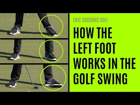 GOLF: How The Left Foot Works In The Golf Swing