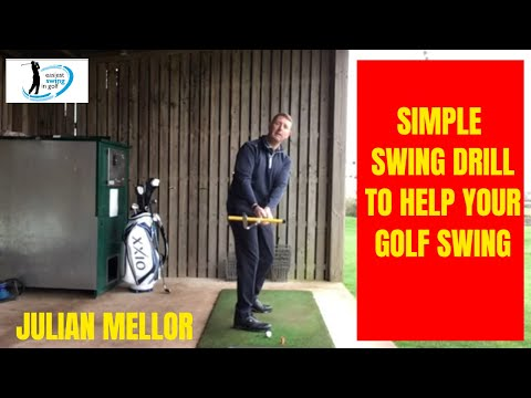 EASIEST SWING IN GOLF, GREAT DRILL TO HELP YOUR GOLF SWING