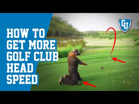 Get More Golf Club Head Speed   Increase Distance & Maintain Accuracy