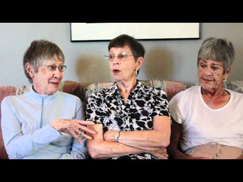 Tips for living a long, healthy life?  Love your sisters!! Cyber-Seniors Corner