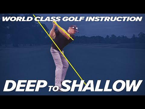 HOW TO SHALLOW YOUR SWING ! – DEEP to SHALLOW – Craig Hanson Golf
