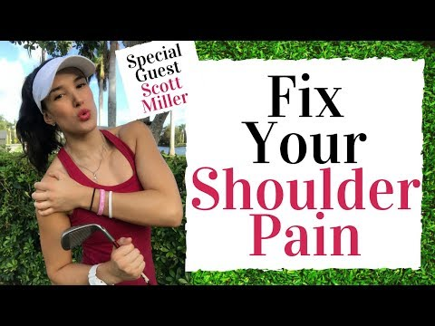 Fix Your Shoulder Pain And Improve Your Golf Swing –  Golf Fitness Tips