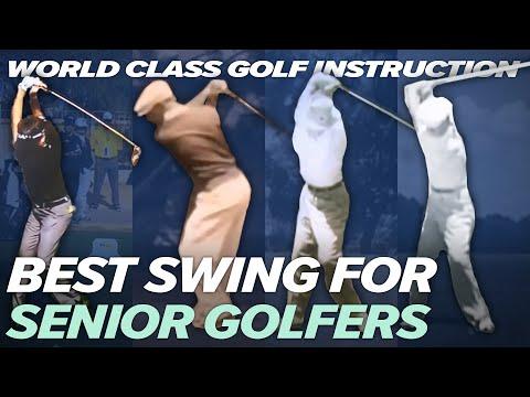 BEST SWING FOR SENIOR GOLFERS – Craig Hanson Golf