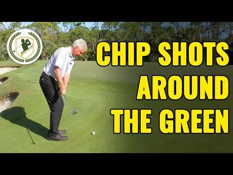 How To Hit Chip Shots Around The Green (BEST CHIPPING DRILLS!)