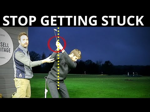 BACKSWING TIP TO STOP GETTING STUCK IN DOWNSWING