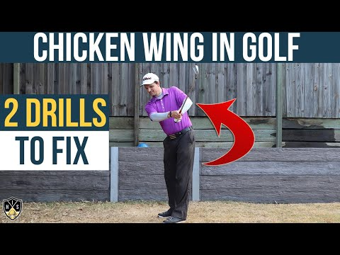 Chicken Wing In Golf Swing ➜ #1 Way To Fix Fast