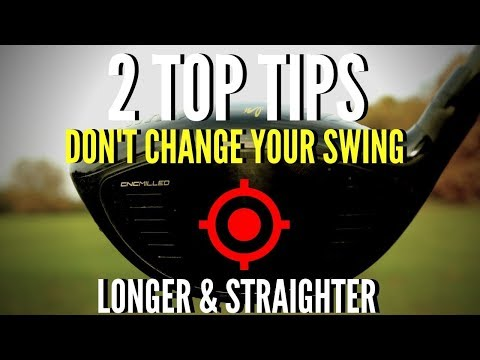 2 GOLF DRIVER TIPS FOR EASY YARDS