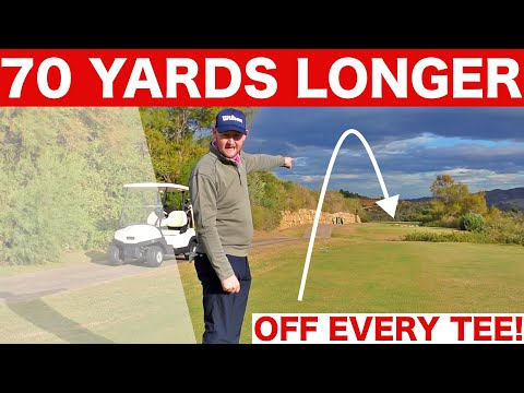 70 YARDS FURTHER OFF EVERY TEE! FRONT TEE GOLF CHALLENGE