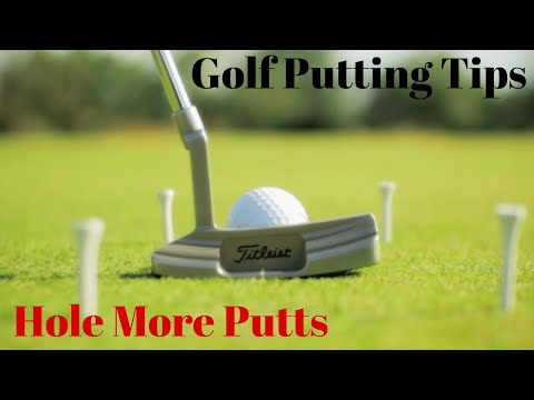 Golf Putting Tips – Why You DON'T Want a Pendulum Putting Stroke   36/64 Rule