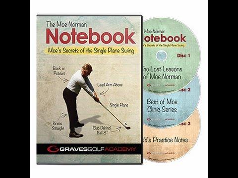 Single Plane Golf Swing – Secrets of Moe Norman – Notebook Teaser
