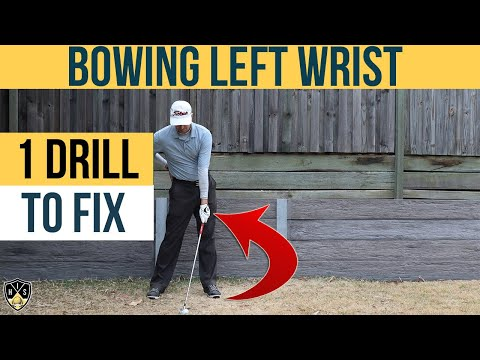 Bowing Left Wrist In Downswing ➜ 2 Keys You Can't Ignore