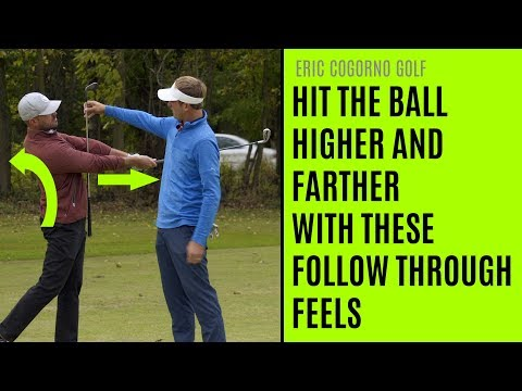 GOLF: Hit The Ball Higher And Farther With These Follow Through Feels