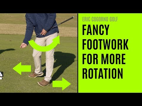 GOLF: Fancy Footwork For More Rotation