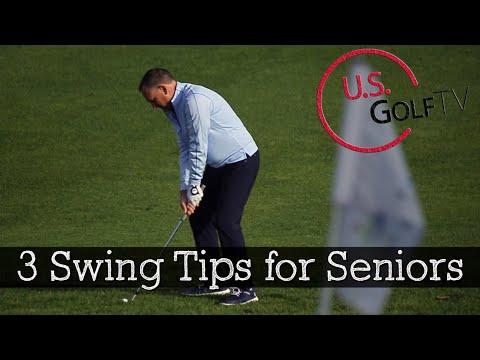 3 Golf Swing Tips for Senior Golfers
