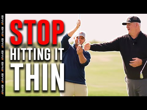 [SIMPLE FIX 🔨] Stop Hitting Thin Shots During Your Golf Game 🛑