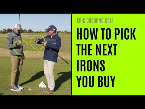 GOLF: How To Pick The Next Irons You Buy