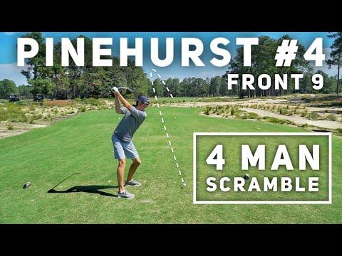 4 Man Scramble at Pinehurst #4 (Front 9)