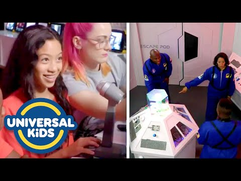 [FULL EP] Kids Made a DIY Escape Room for THEIR PARENTS! 😮 | Create The Escape | Universal Kids