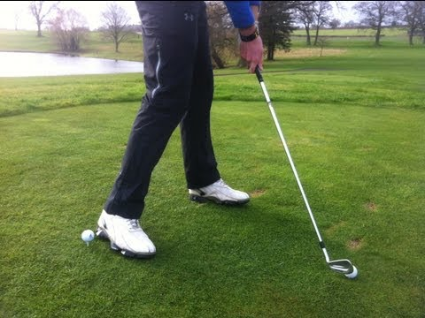 Transfer Your Weight In The Golf Swing – Drill