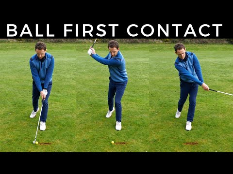 How To Hit the Ball Then The Turf With Your Irons – Magic Drill