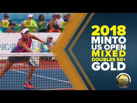 Mixed Doubles 50+ Gold Medal Match from the 2018 Minto US Open Pickleball Championships