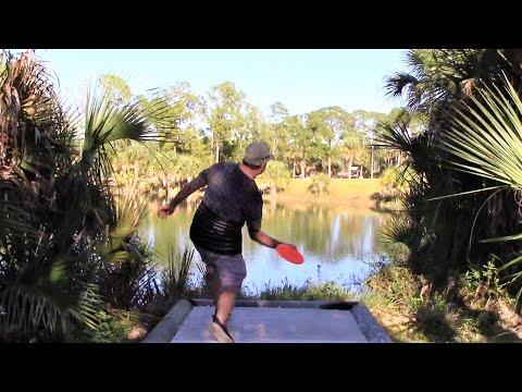 Disc Golf Round & Tutorial at Palm Springs Naples Florida by Ivan Katz