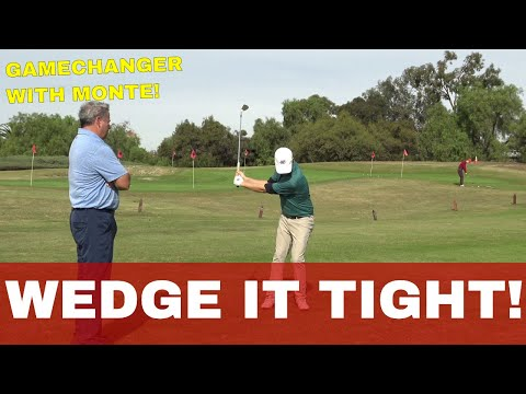 GOLF | 95% chance YOU are Hitting THIS wedge shot WRONG! GAME CHANGER W Monte Scheinblum