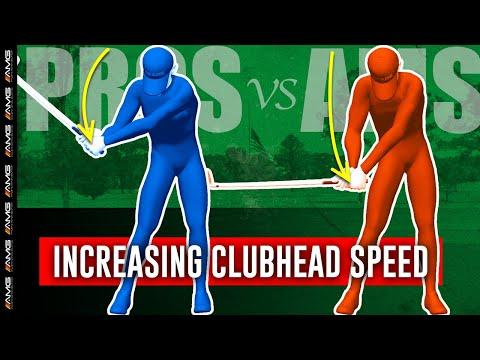 Increasing Your Golf Club Head Speed 🏌️♂️💨 | Pros vs. Ams