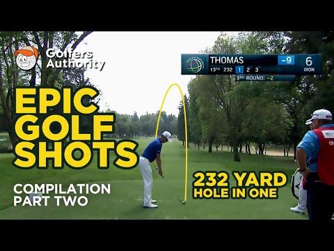 Epic Golf Shots Compilation (Part 2)