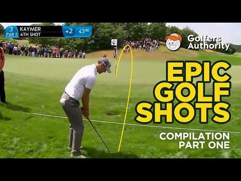 Epic Golf Shots Compilation (Part 1)